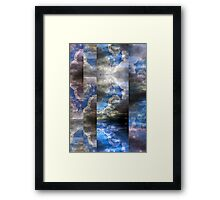 Echoes/Reflections: Composition With Clouds and Sky — July 6, 2010 Framed Print