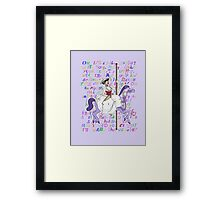 It's Mary That We Love Framed Print