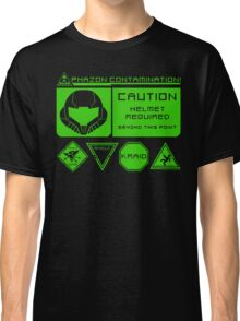 Cosmic Caution Classic T-Shirt
