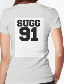 SUGG BASEBALL TEE Womens Fitted T-Shirt