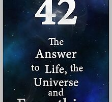 42 is the Answer by The-sign