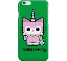 Hello Unikitty iPhone Case/Skin