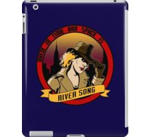 Where In Time and Space Is River Song? iPad Case/Skin
