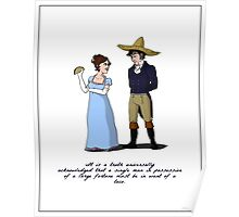 Pride and Prejudice and Tacos Poster