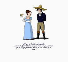 Pride and Prejudice and Tacos Unisex T-Shirt