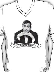 "Michael Scott - ""That's What She Said"" T-Shirt"