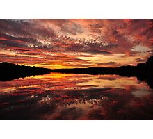 Rococo Sunset Photographic Print