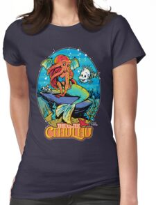 The Little Cthulhu Womens Fitted T-Shirt