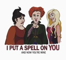 I Put A Spell On You Kids Tee