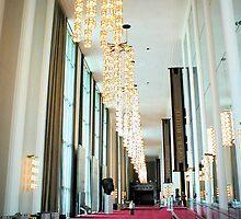 Grand Foyer - John F. Kennedy Center by AJ Belongia