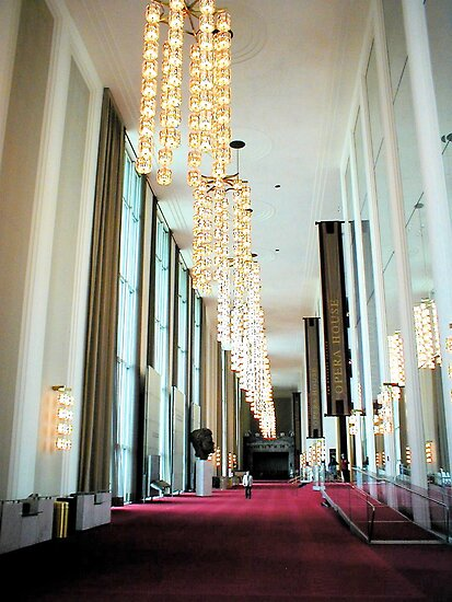 Grand Foyer Kennedy Center : Quot grand foyer john f kennedy center by aj belongia