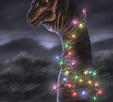 Brachiosaurus Christmas Tree by Thedragonofdoom