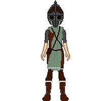 Skyrim 8-bit Morthal Guard Photographic Print