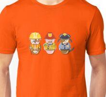 Workobeez THREE WORKIN' GUYS! Unisex T-Shirt