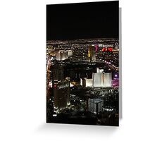 The Stratosphere- Las Vegas, Nevada Greeting Card