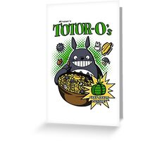 Totoro's Cereal Greeting Card