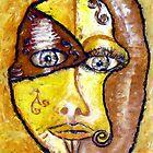 broken - a mask by Shelley Bain