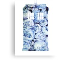 The Tardis -Doctor Who Canvas Print