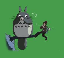 Totoro and the Doctor's Midnight Musicale Baby Tee