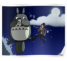 Totoro and the Doctor's Midnight Musicale Poster