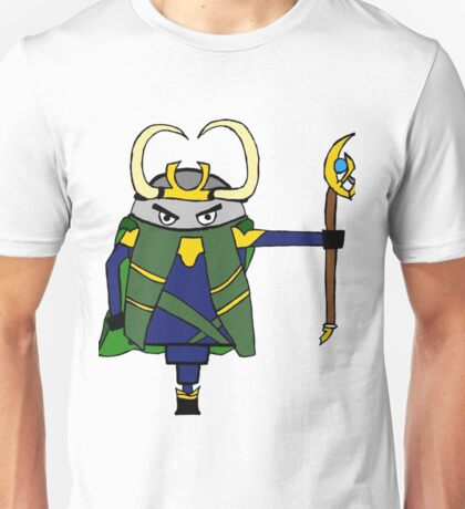 The NORSE God of Mischief  Unisex T-Shirt