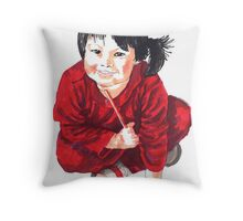 My little China doll! Throw Pillow