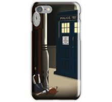 Do You Want To Meet a Time Lord? iPhone Case/Skin