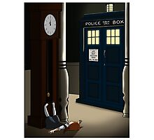 Do You Want To Meet a Time Lord? Photographic Print