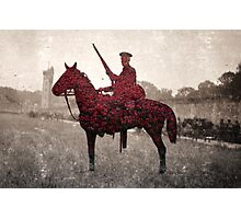 British Soldier - Second Cavalry Photographic Print