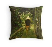 The Long and Winding Path Throw Pillow
