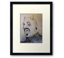 Marco always wanted to play the part of the devil. nows his chance Framed Print