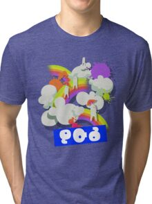 Splatfest Team Pop v.4 Tri-blend T-Shirt