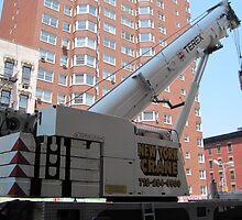 New York City Crane by Patricia127