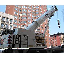 New York City Crane Photographic Print