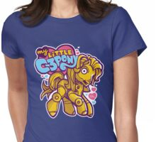 My Little C-3POny Womens Fitted T-Shirt