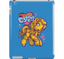 My Little C-3POny iPad Case/Skin