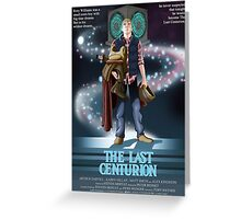 The Last Centurion Greeting Card