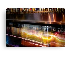Beer in a Flash Canvas Print
