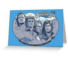 Mt. Awesome Greeting Card