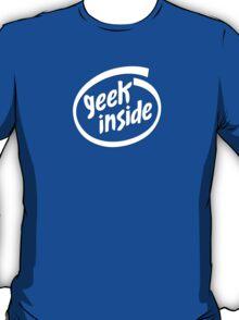 Geek Inside - White T-Shirt