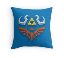The Legend of Zelda - Link's Hylian Shield Throw Pillow