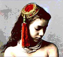 "Vintage Moroccan Beauty  ""The Concubine"" by Virinia  Downham"