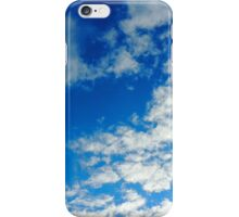Clouds came floating into my life iPhone Case/Skin