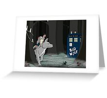 The Doctor and the Princess Greeting Card