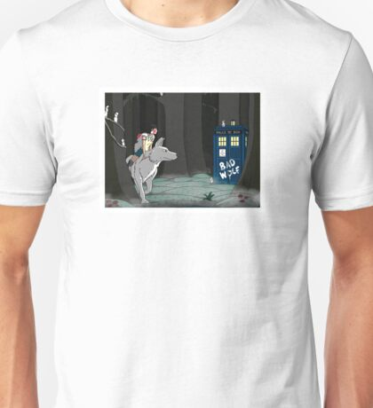 The Doctor and the Princess Unisex T-Shirt
