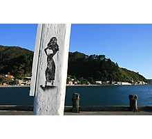 Hello Sailor Photographic Print