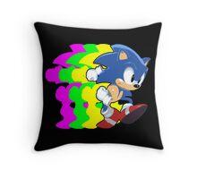 Gotta Go Fast! Throw Pillow