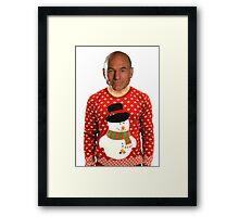 Christmas Picard Framed Print