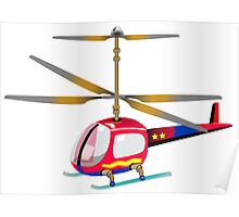 Henry the Helicopter Poster