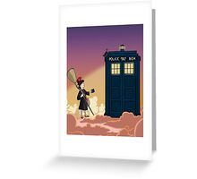 Doctor's Delivery Service Greeting Card